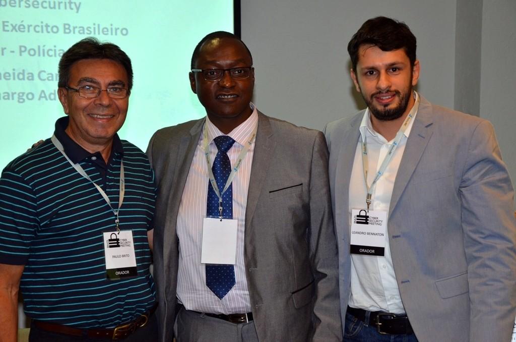 Cyber Paulo Brito RAlf Braga e Leandro Bennaton