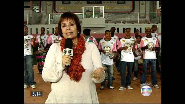 Sandra Moreyra - TV Globo