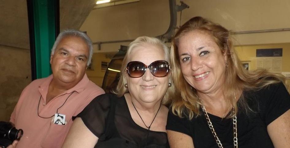 Elias , Vera Cristina em Aparecida
