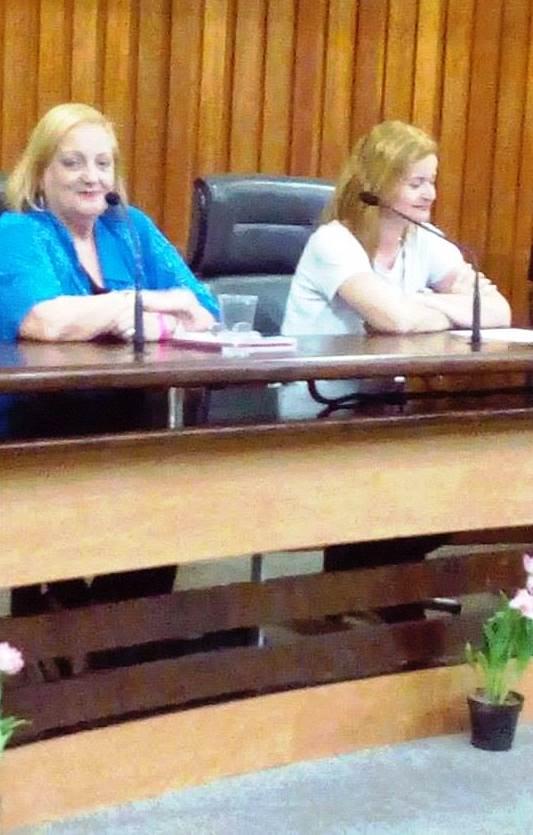 Vera Tabach e a Montanhista Sabrina Marmiroll Paschoal -